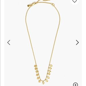 Madewell Hammered charm necklace
